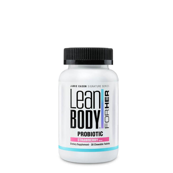 Vitamins & Health - Lean Body For Her Probiotic Strawberry (30 Serve) 30 Chewable Tablets