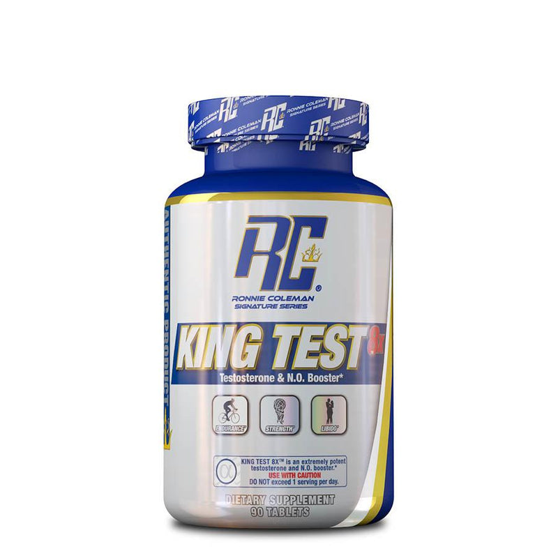 Vitamins & Health - Ronnie Coleman King Test 8X (15 Serve) 90 Tablets