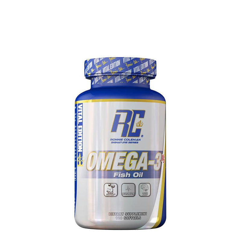 Ronnie Coleman Vital Edition Omega-3 XS (120 Capsules)