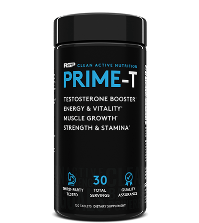 RSP Nutrition Prime-T (30 Serve) 120 Capsules