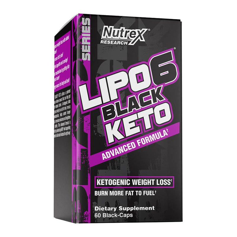 Weight Management - Nutrex Research Lipo-6 Black Keto (30 Serve) 90 Capsules