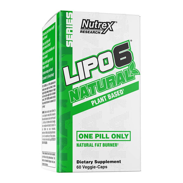 Weight Management - Nutrex Research Lipo 6 Natural (60 Serve) 60 Veggie-Caps