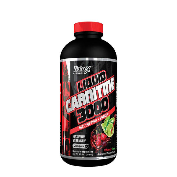 Weight Management - Nutrex Research Liquid Carnitine 3000 (15 Serve) 473ml