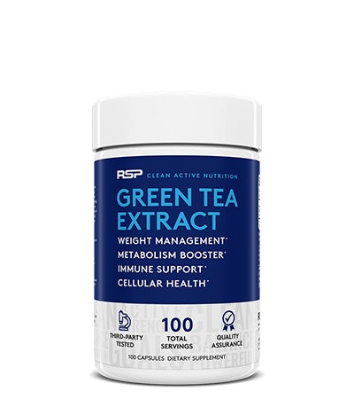 RSP Nutrition Green Tea Extract (100 Serve) 100 Capsules