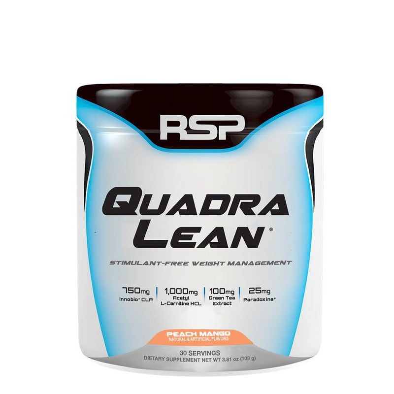 Weight Management - RSP Nutrition QuadraLean Powder (30 Serve) 108g