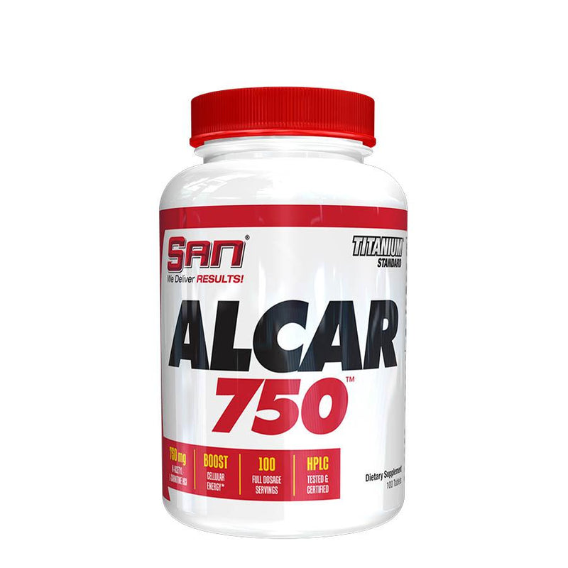 SAN Nutrition ALCAR 750 (100 Serve) 100 Tablets