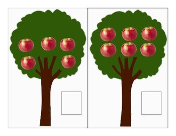 Apple counting 1-10 Freebie