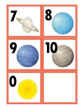 Freebie: Planets Number Cards 1-10