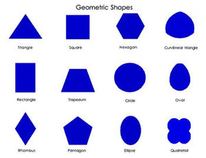 Mini Geometric Shapes Poster
