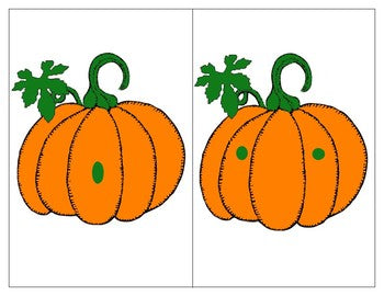 Two  Autumn Math Centres: Pumpkins and Cats Number Recognition 1-10  and Fall Count and clip 1-20 Cards