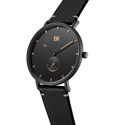 Rose Gold | Black