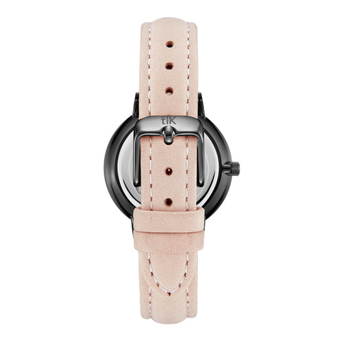 Light Pink Strap - Black Buckle