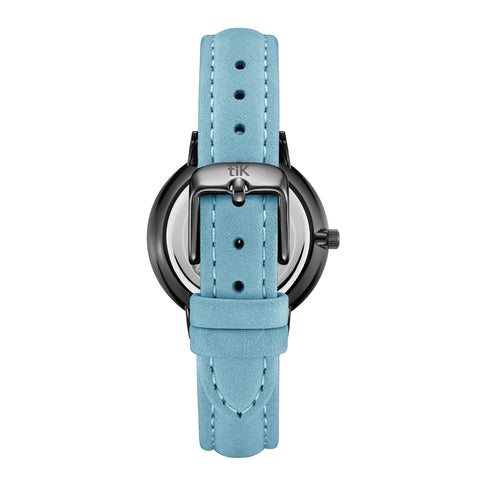 Tiffany Blue | Black Buckle