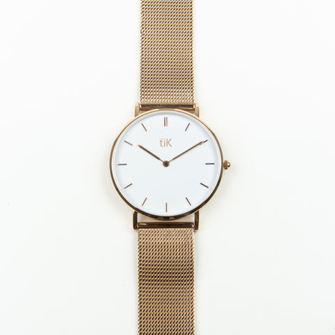 Luna | Rose Gold Mesh