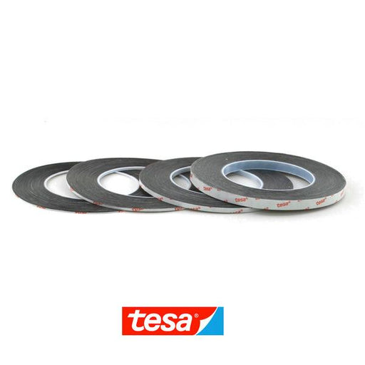 TESA 61395 Double Sided Adhesive Tape (Black) (All Sizes)