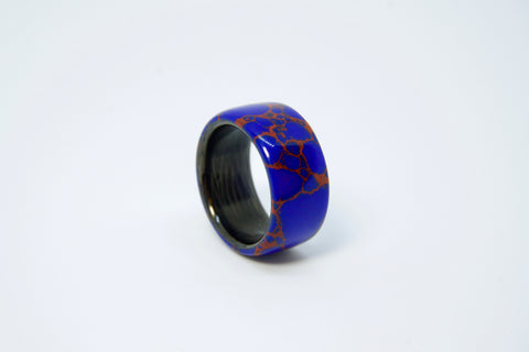 Azurite with Carbon Fiber Inner Liner Ring