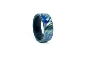 Timascus - Carbon Fiber Ring