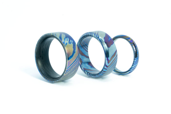 Thin Timascus Ring