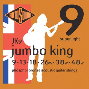 RotoSound JK9 Aco Str 9-48 Strings