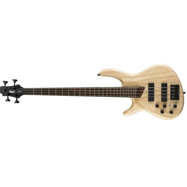 Cort B-4LH Open Pore Natural Left-Handed 4-String Bass