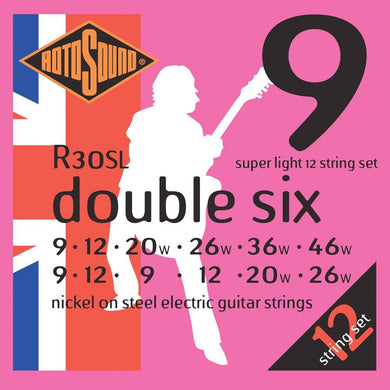 RotoSound R30SL Ele 12-Str Strings