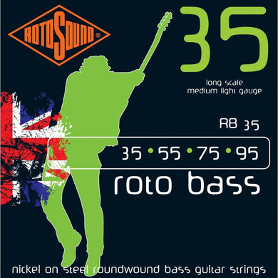 Rotosound RB35 4-Str Bass 35-95 Strings