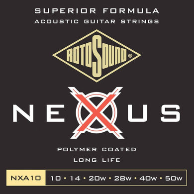 RotoSound NXA10 Aco Str 10-50 Strings