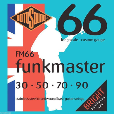 Rotosound FM66 Funkmaster 4-Str Bass 30-90 Strings