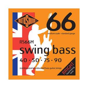 RotoSound RS66M 4-Str Bass 40-90 Strings