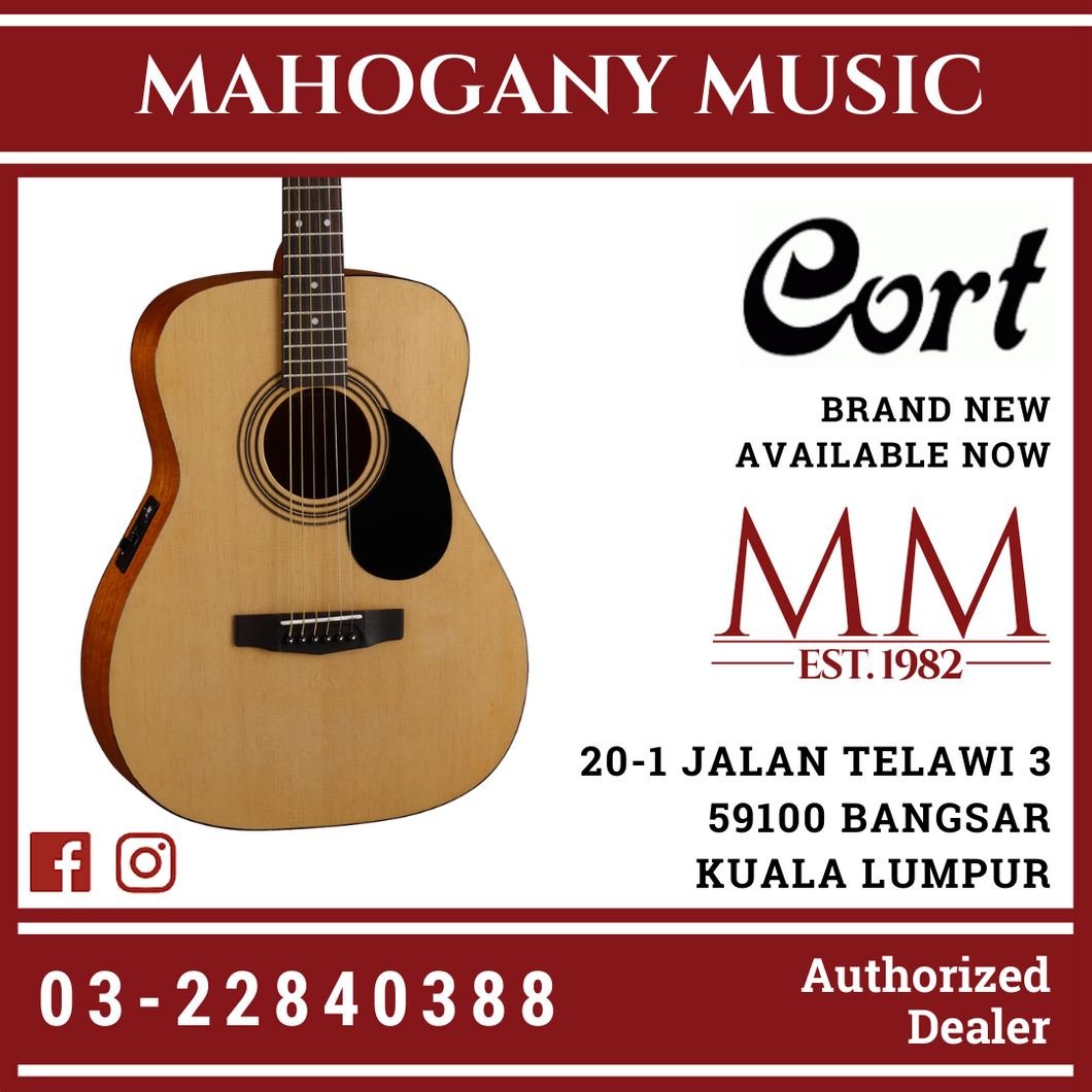 Cort AF-510E Open Pore Acoustic Guitar