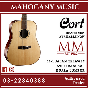 Cort AS-E5 Natural Acoustic Guitar