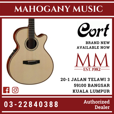 Cort AS-S4 Natural Acoustic Guitar