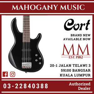 Cort Action Plus Black Electric Bass