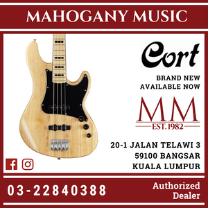 Cort GB Series - GB54JJ Natural Bass Guitar