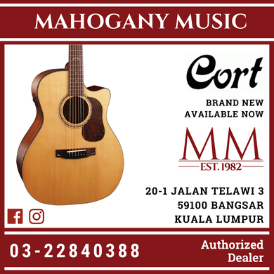 Cort Gold-A6 Natural Acoustic Guitar