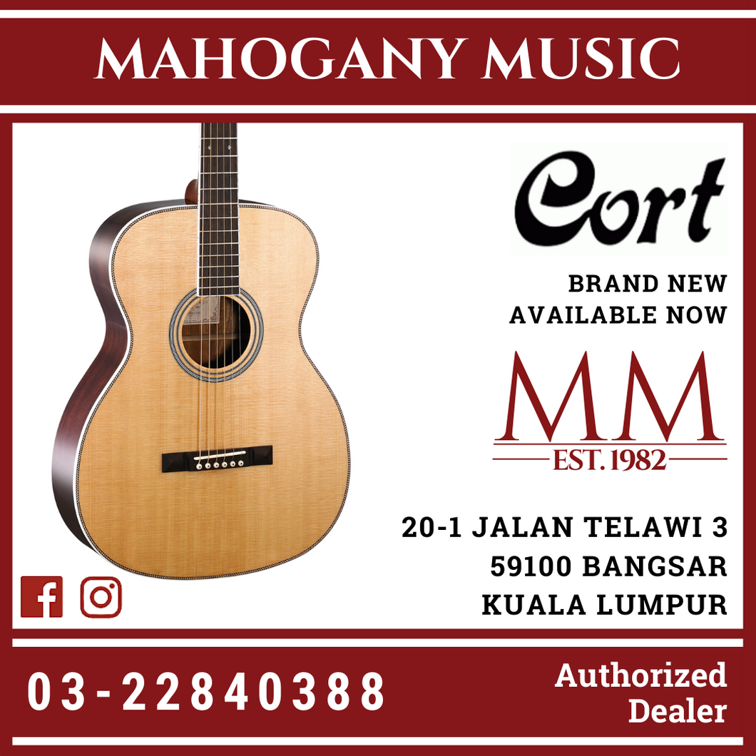 Cort L-500O Natural Acoustic Guitar