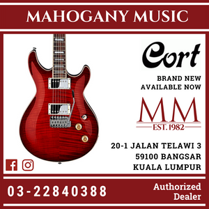 Cort M-600T Black Cherry Electric Guitar