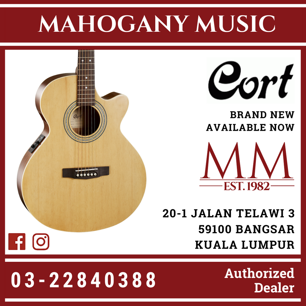 Cort SFX-ME Natural Acoustic Guitar