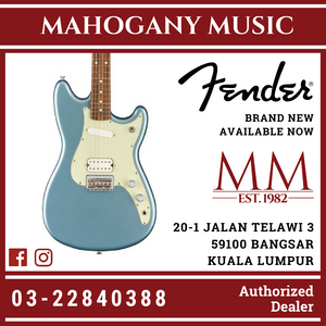 Fender Player Duo-Sonic HS Electric Guitar, Pau Ferro FB, Ice Blue Metallic