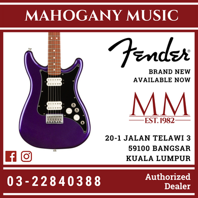 Fender Player Lead III Electric Guitar, Pau Ferro FB, Metallic Purple