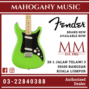 Fender Player Lead II Electric Guitar, Maple FB, Neon Green