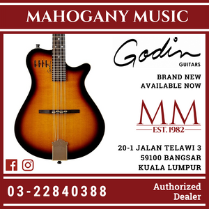 Electric Guitar Godin A8  Mandolin Cognac Burst HG