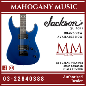 Jackson JS Series Dinky JS11 Electric Guitar, Amaranth FB, Metallic Blue