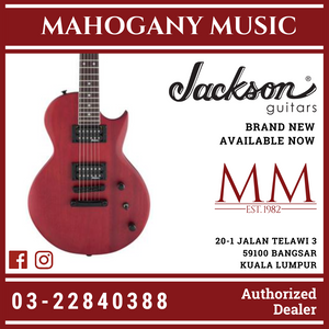 Jackson JS Series Monarkh JS22 SC Electric Guitar, Red Stain
