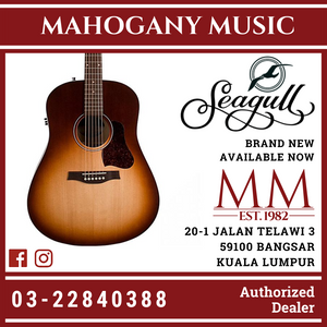 Seagull Entourage Autum Burst With EQ Acoustic Guitar 46508