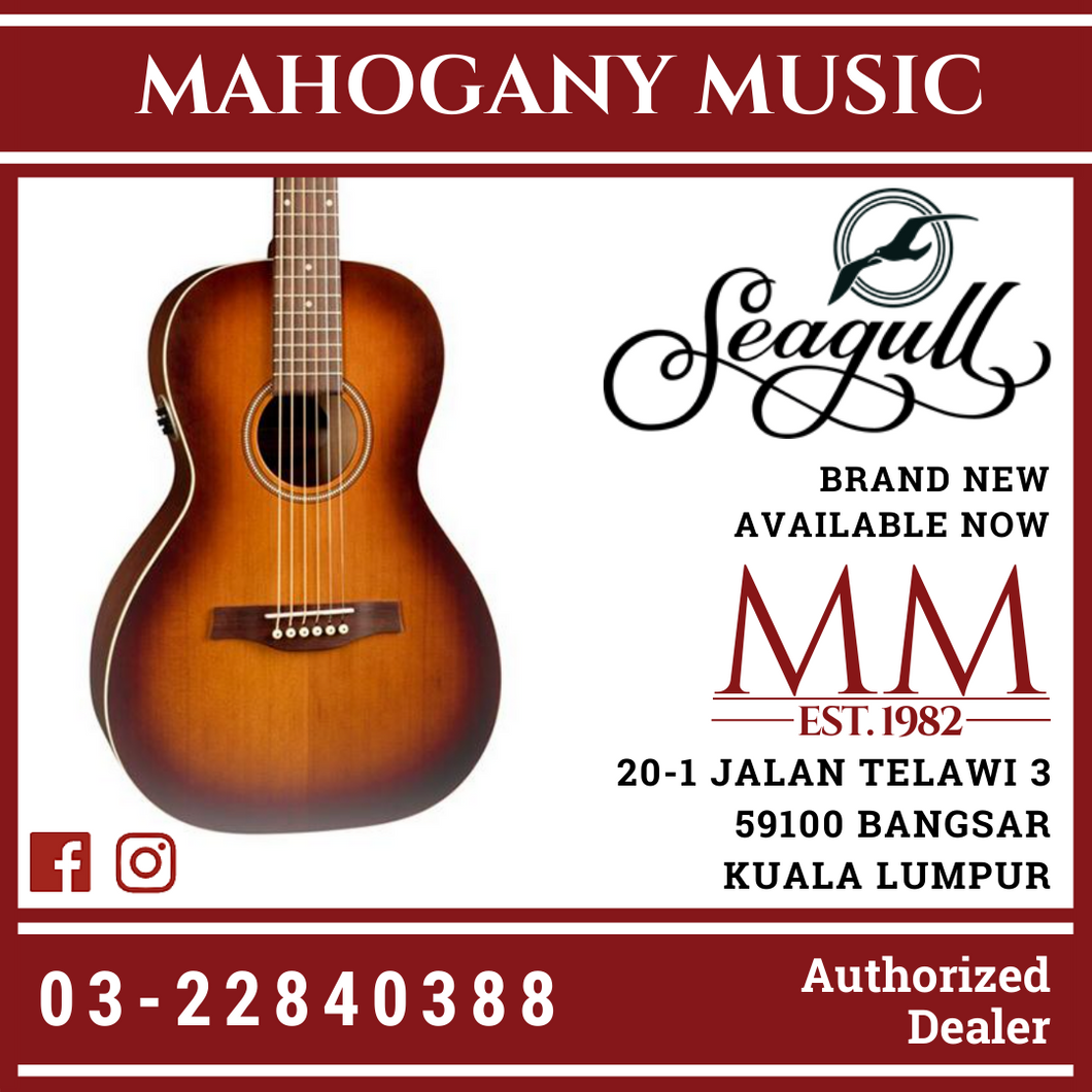 Seagull Entourage Rustic Grand With EQ Acoustic Guitar 35625