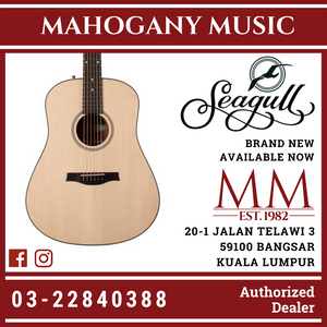 Seagull Maritime Solid Wood Series Semi Gloss Acoustic Guitar 46461