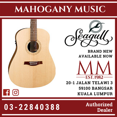 Seagull Walnut Isys T Acoustic Guitar 39555