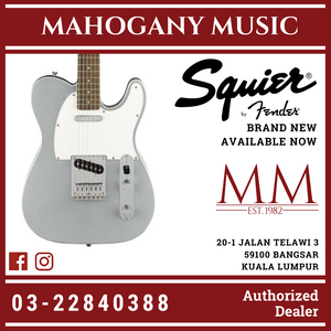 Squier Affinity Telecaster Electric Guitar, Laurel FB, Slick Silver