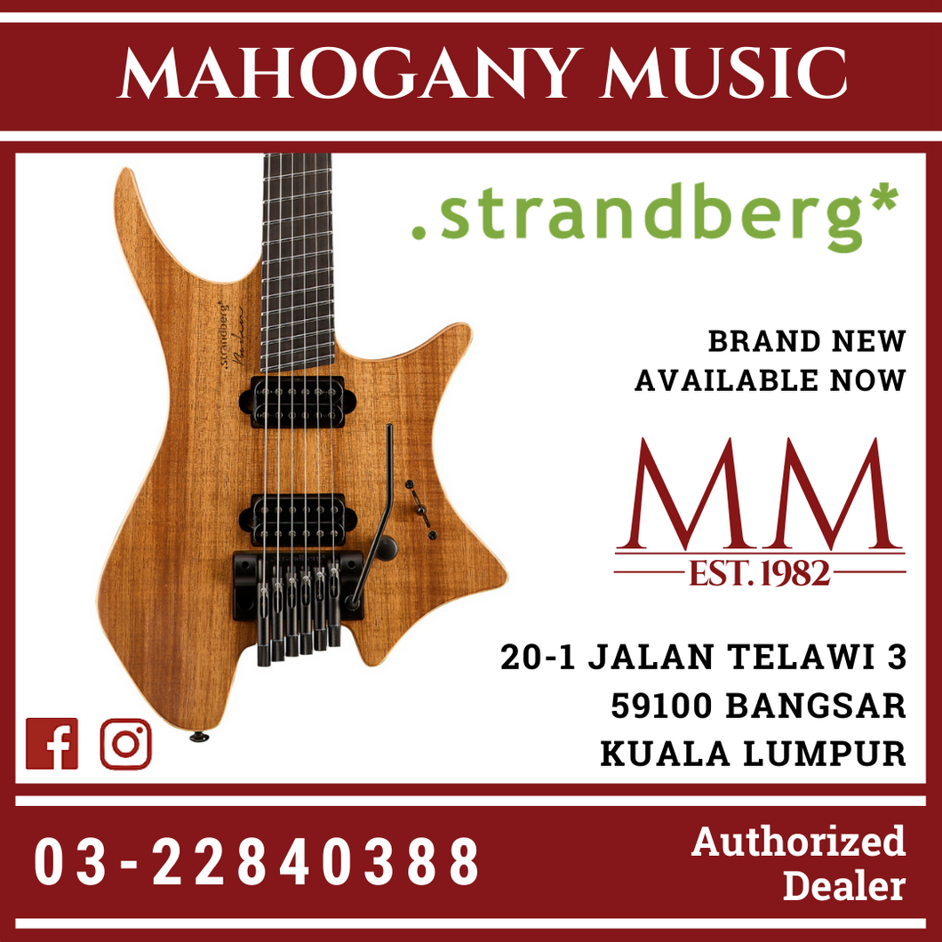 Strandberg Plini Edition Natural Finish Electric Guitar